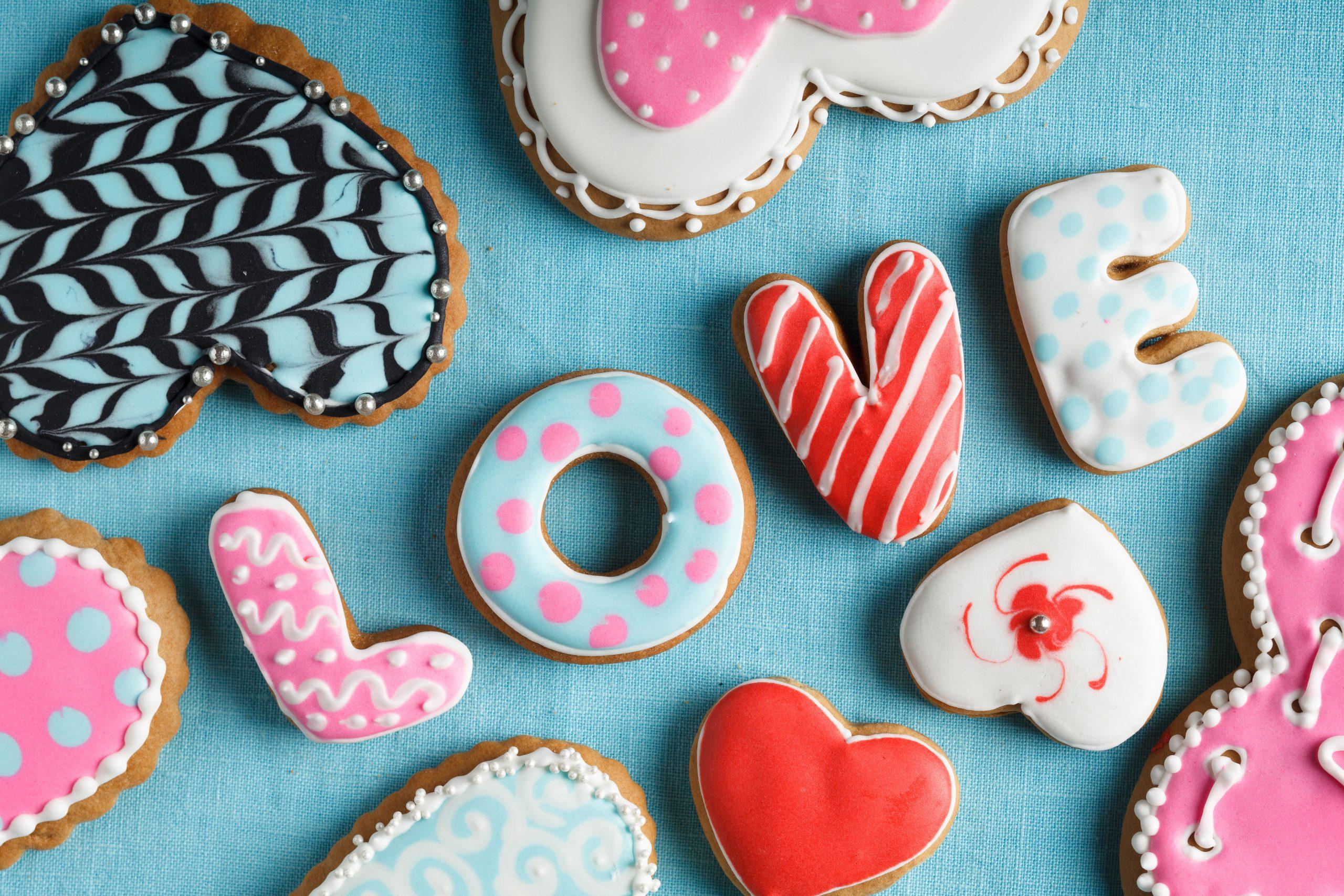 Pour la Saint-Valentin, on lui fait des sablés un peu particuliers !