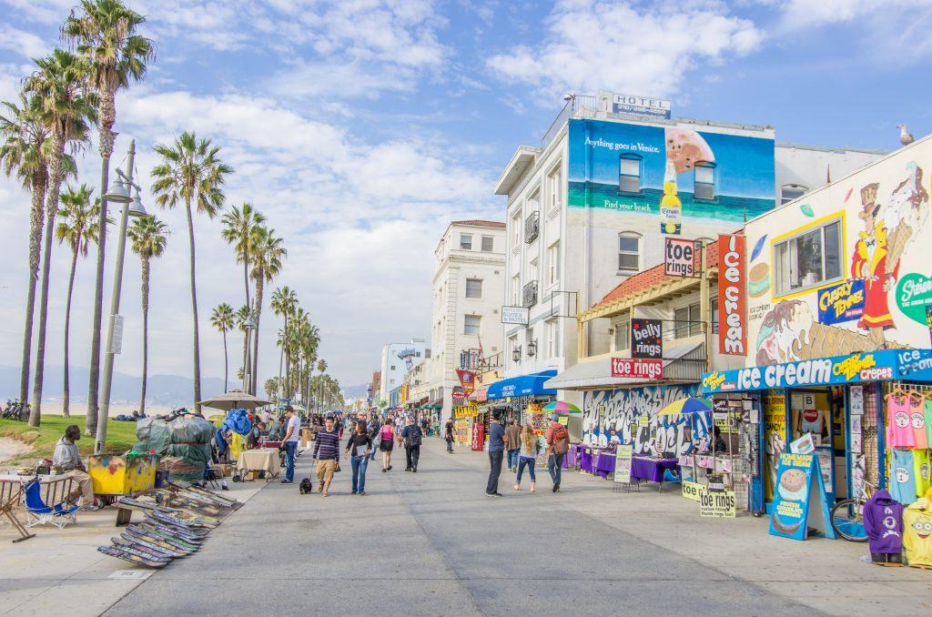 4 jours à Los Angeles en famille # Santa Monica et Venice Beach
