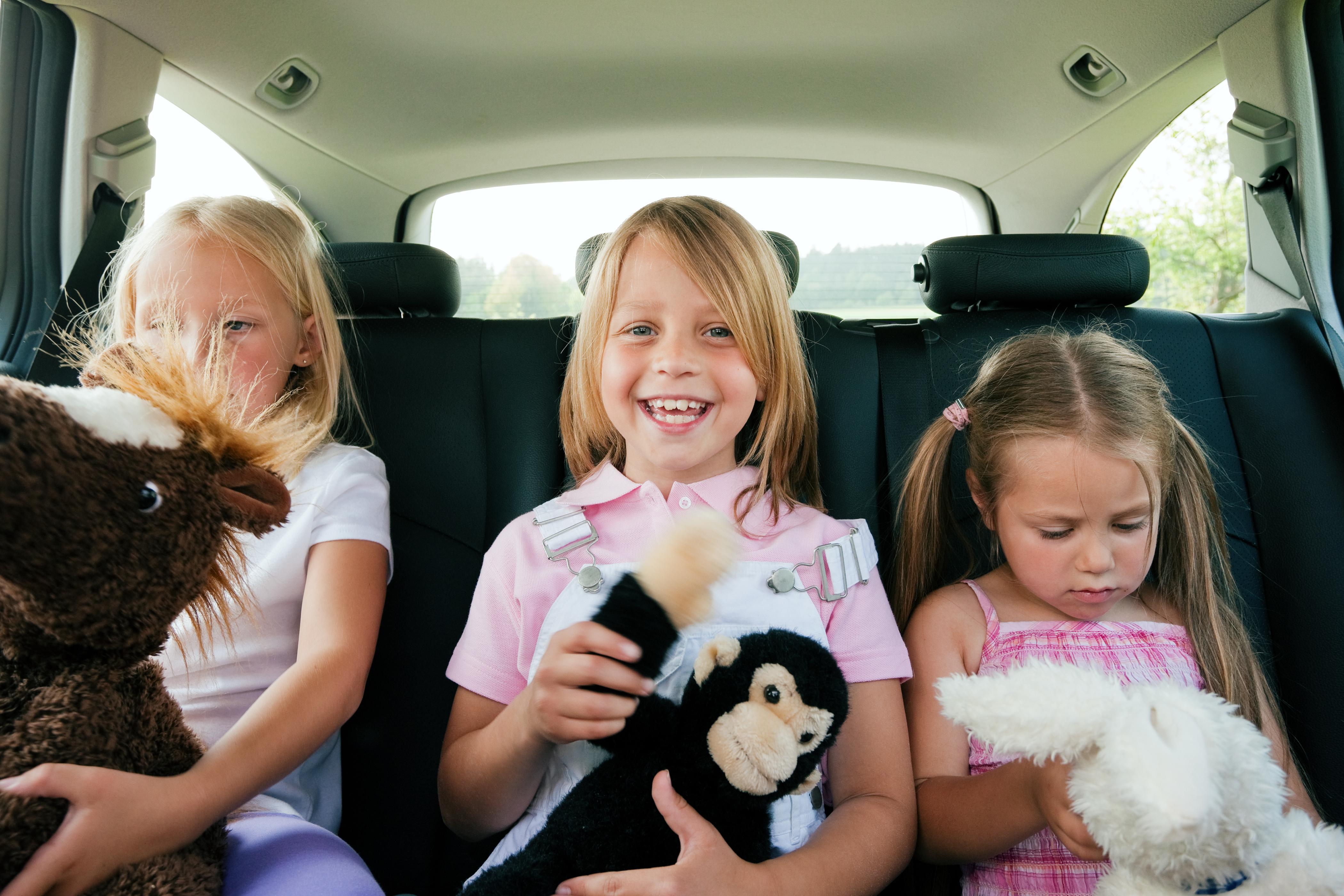 En voiture au quotidien avec des enfants