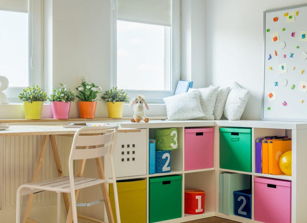 idées pratiques de rangements pour chambre d'enfant