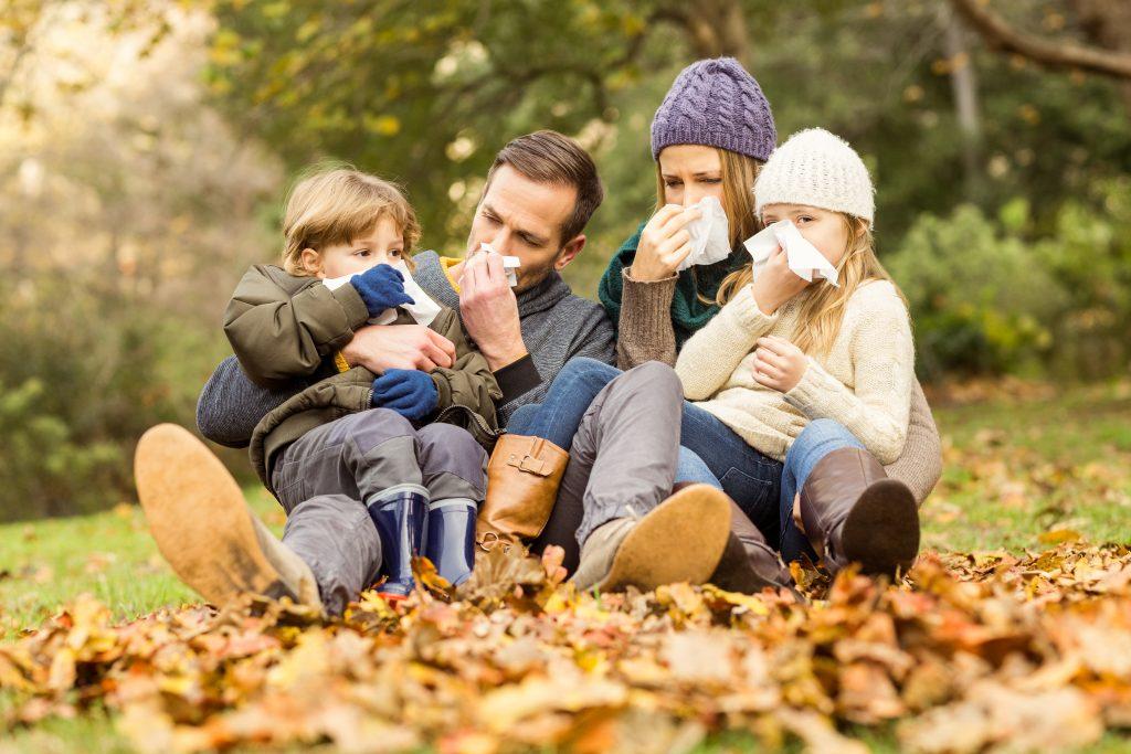 automne, gastro, rhume, poux