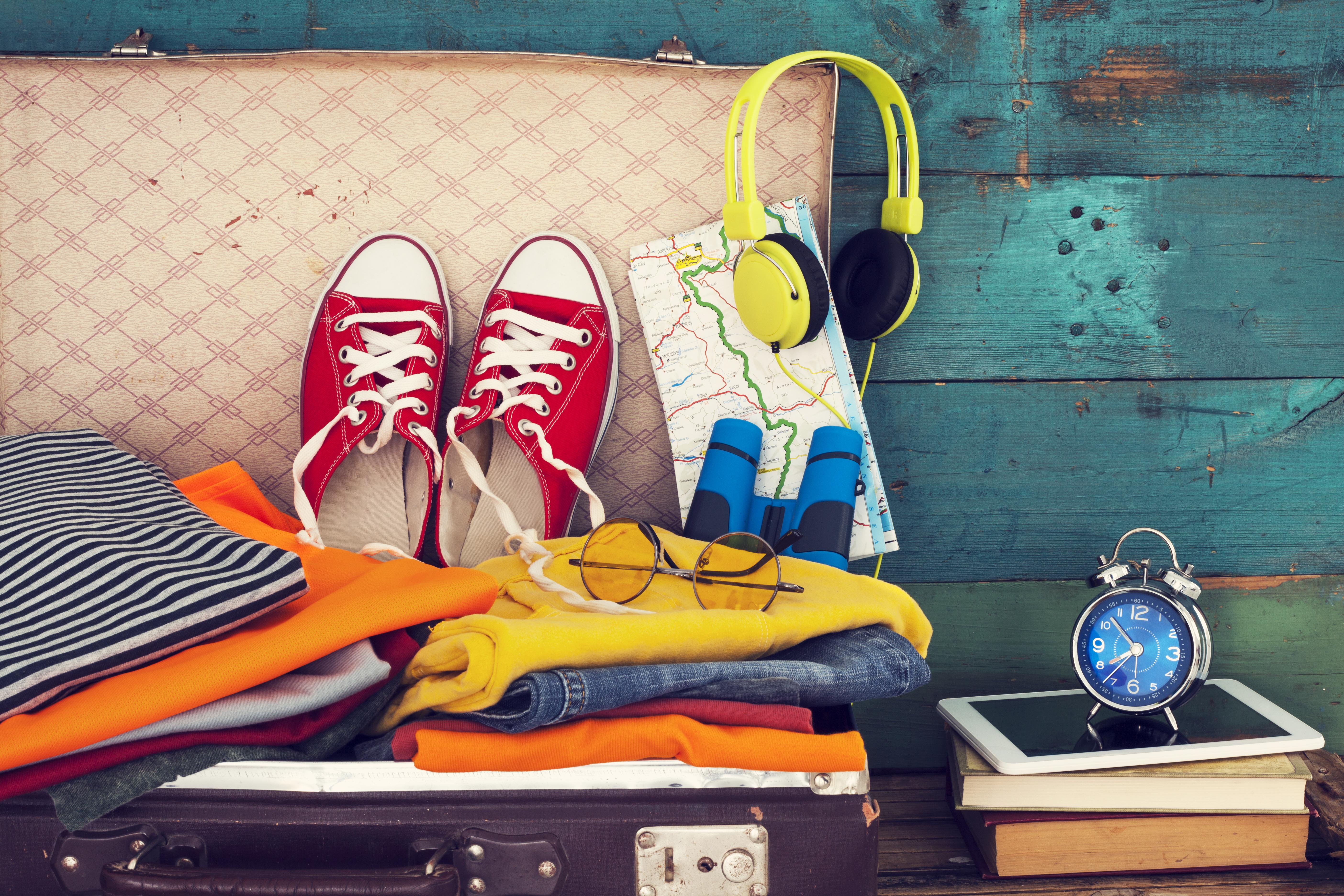 Faire ses valises: 10 astuces anti-stress