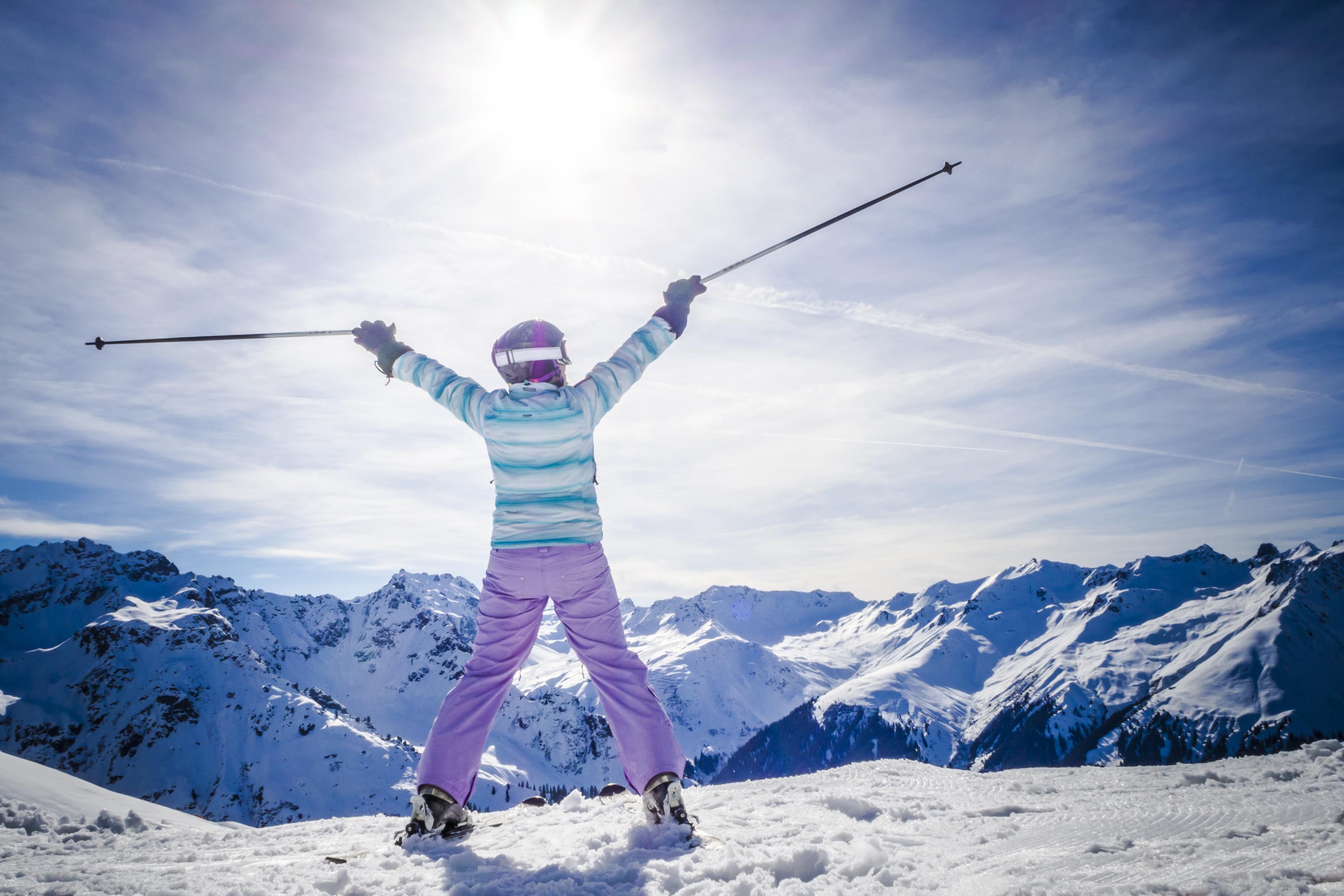 Ski, moins de risques avec une bonne préparation physique
