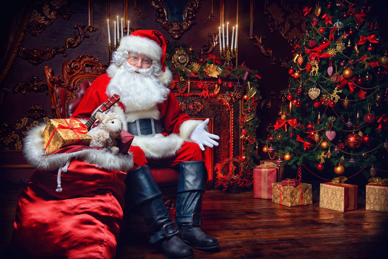 LA vidéo personnalisée du père Noël
