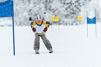 Ne mettez pas la pression aux enfants au ski