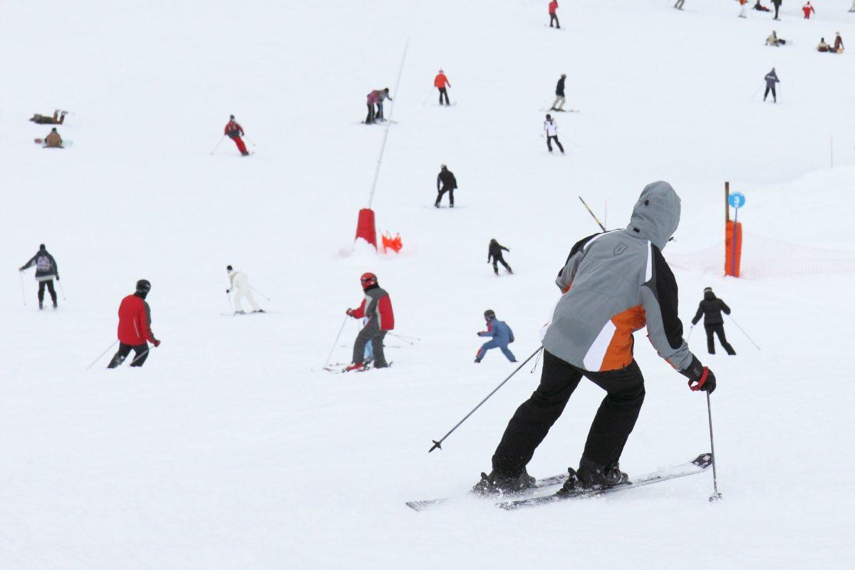 Prudence sur les pistes de ski