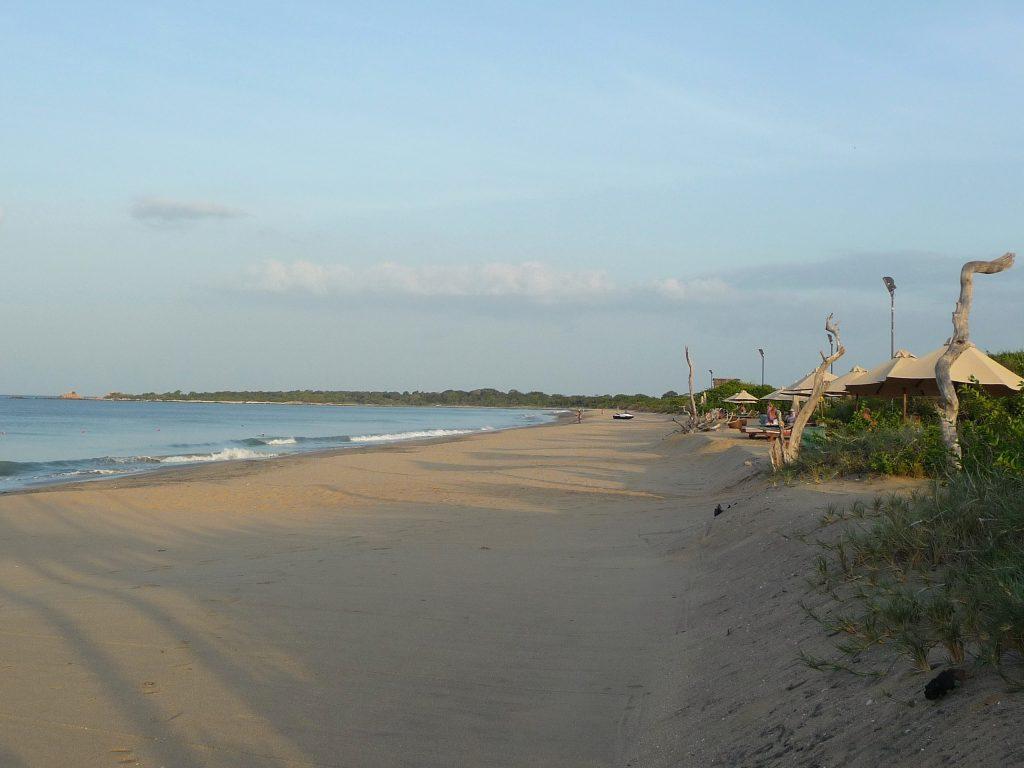 Les plages d'Uppuveli et de Nilaveli