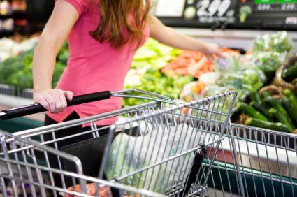 Pour réduire le montant du caddy, faites vos courses avec vos menus en tête