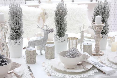 idées pour une table de Noël féerique
